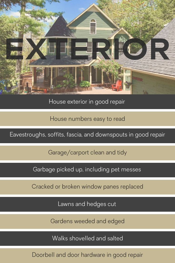 Preparing the exterior of your home for sale